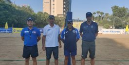 Πρακτική εξάσκηση σχολής διαιτησίας Beach Volley